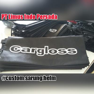 Produksi sarung / kantong Cargloss Helm