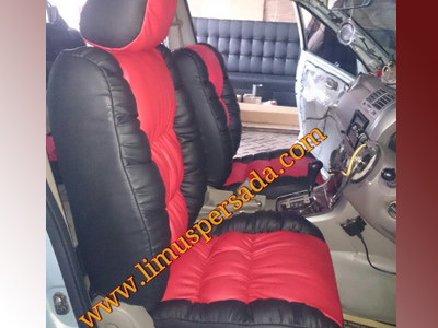 Sarung jok permanen model sofa Daihatsu Taruna model sofa